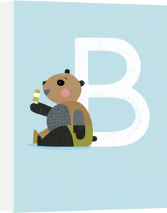 B is for Bear by Sugar Snap Studio
