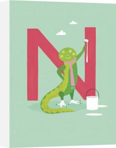 N is for Newt by Sugar Snap Studio