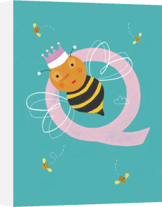 Q is for Queen by Sugar Snap Studio