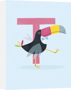 T is for Toucan by Sugar Snap Studio
