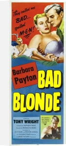 Bad Blonde by Hammer