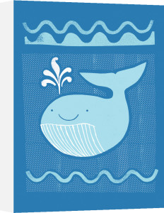 Blue Whale by Sugar Snap Studio