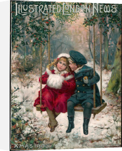 Children in the Snow by Anonymous