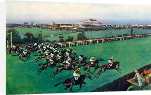 The 1923 Derby, 1926 by Cecil Aldin