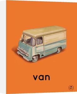 van by Ladybird Books