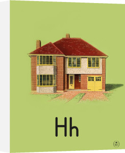 H is for house by Ladybird Books