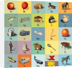 alphabet (letters) by Ladybird Books
