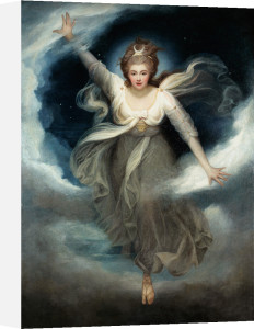Georgiana as Cynthia from Spenser's 'Faerie Queene', 1781-82 by Maria Hadfield Cosway