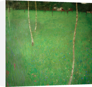 Farmhouse with Birch Trees, 1900 by Gustav Klimt