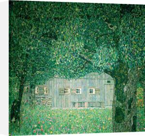 Farm House in Upper Austria, 1911 by Gustav Klimt