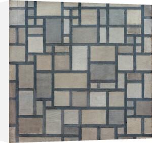 Composition with Lattice Work 7, 1919 by Piet Mondrian