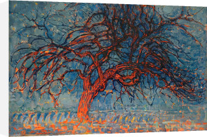 The Red Tree, 1908 by Piet Mondrian