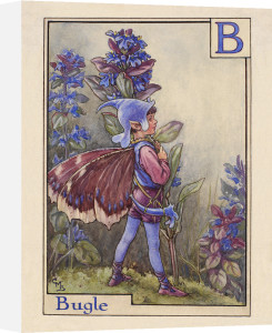 Bugle Fairy by Cicely Mary Barker