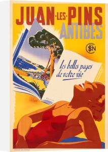 Juan les Pins, 1930s by Rene Bleuer
