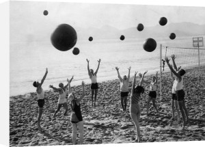 Christmas on the Beach, 1935 by Anonymous