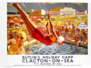 Butlins Holiday Camp, Clacton-on-Sea by J Greenup