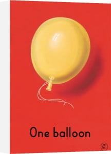 One balloon by Ladybird Books'