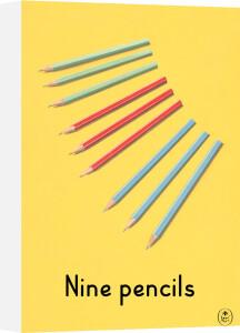 Nine pencils by Ladybird Books