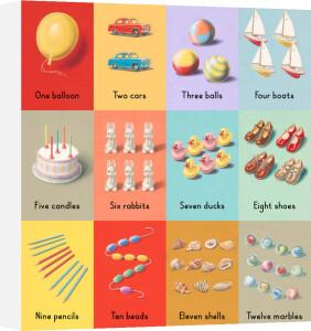 One to twelve by Ladybird Books'