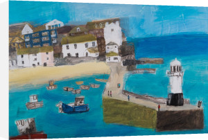 The Harbour at Full Tide by Emma Jeffryes