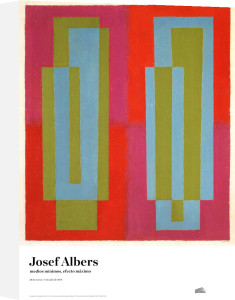 Oscillating (C) by Josef Albers