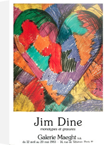 Heart by Jim Dine