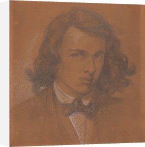 Dante Gabriel Rossetti by Dante Gabriel Rossetti