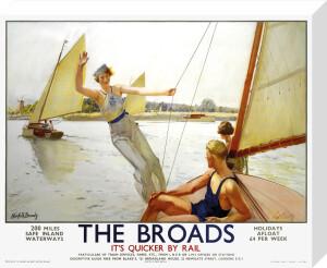 The Broads by Septimus E Scott