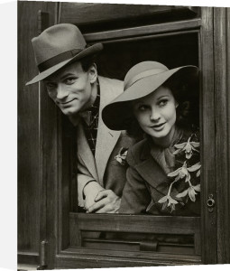 Laurence Olivier and Vivien Leigh, May 1937 by Unknown photographer