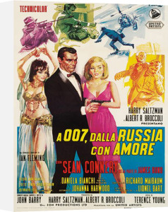 James Bond - From Russia With Love by Anonymous