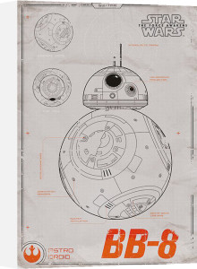 Star Wars Episode VII - BB-8 by Anonymous