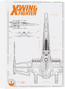 Star Wars Episode VII - X Wing Plans by Anonymous