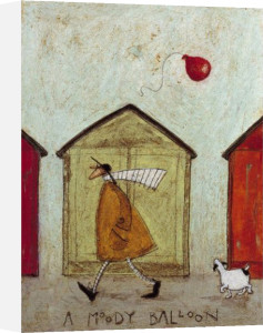 A Moody Balloon by Sam Toft