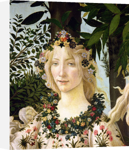 Flora, detail from the Primavera, c.1478 by Sandro Botticelli