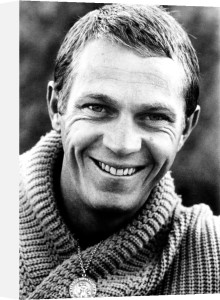 Steve McQueen by Hollywood Photo Archive