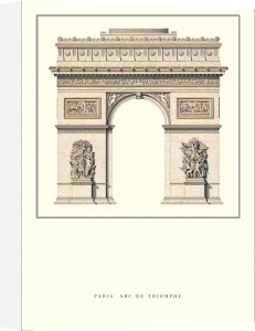 Paris - Arc de Triomphe by Anonymous
