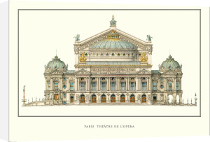 Paris - Theatre de L'Opera by Anonymous