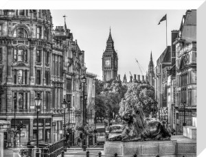 The Big Ben and the Lions by Assaf Frank