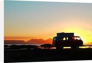 VW West Coast Scotland Silhouette by Paul Stevenson
