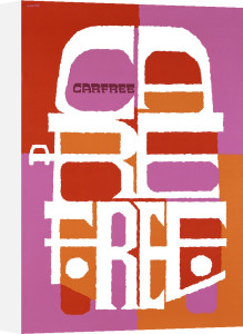 Carfree, Carefree by Abram Games