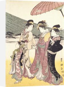 Daimyo Procession by Utagawa Toyokuni