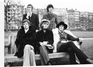 The Rolling Stones, January 1967 by Mirrorpix
