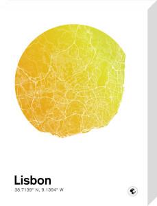 Lisbon by MMC Maps