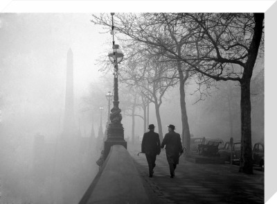 Fog in London, 1962 by PA Images