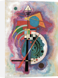 Hommage À Grohmann by Wassily Kandinsky