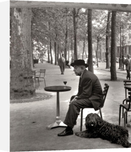 Jacques Prévert, Paris by Robert Doisneau