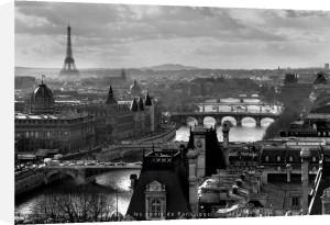 Bridges of Paris by Peter Turnley