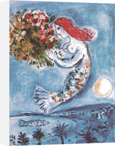 Baie des Anges by Marc Chagall