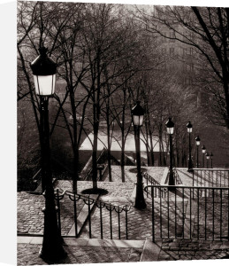 Escalier Montmartre by Sonja Van Willingen