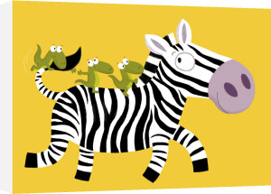 The Zebra by Nathalie Choux